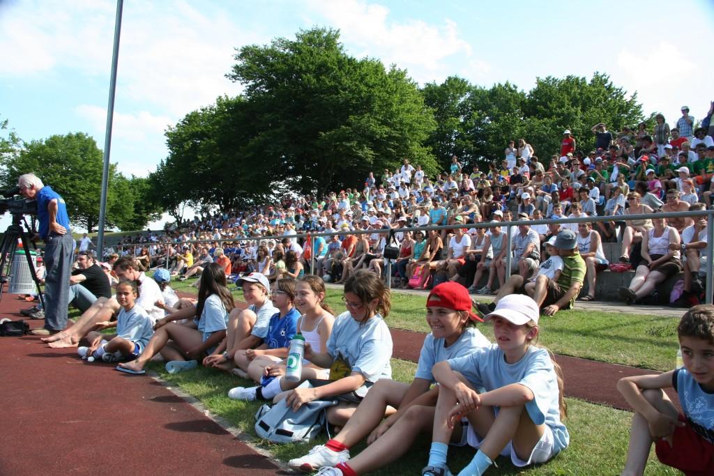 Rund 600 Schülerinnen und Schüler nehmen am alljährlichen Schülerturnier teil