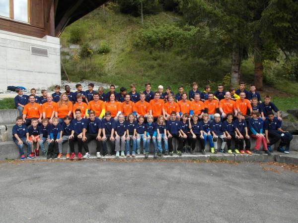 Nachwuchs-Trainingslager - 1. Tag