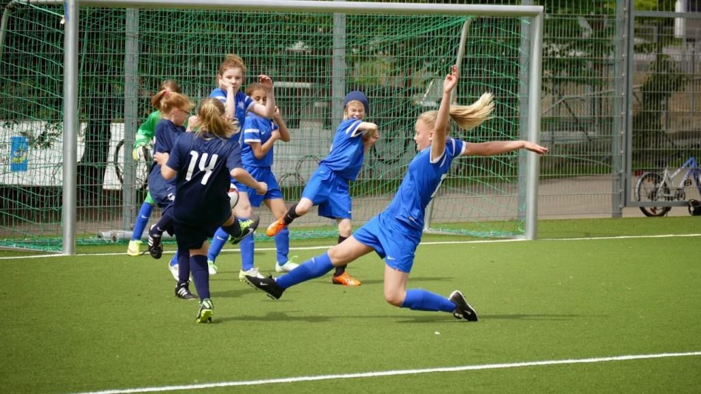 FC Wallisellen - FC Stäfa, Juniorinnen D