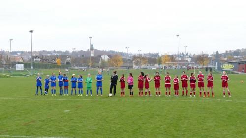 Juniorinnen D, FC Kloten - FC Wallisellen