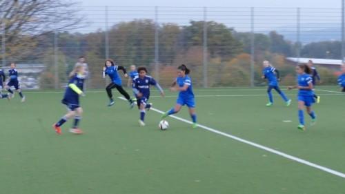 Juniorinnen D, FC Wallisellen - FC Blue Stars Zürich_2