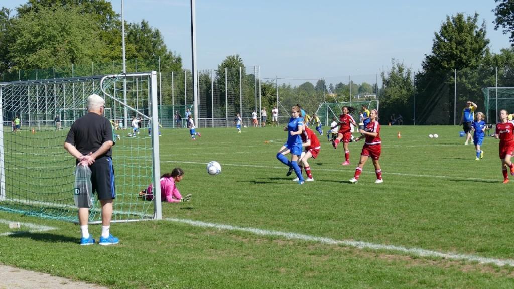 Juniorinnen D, FC Wallisellen - FC Kloten