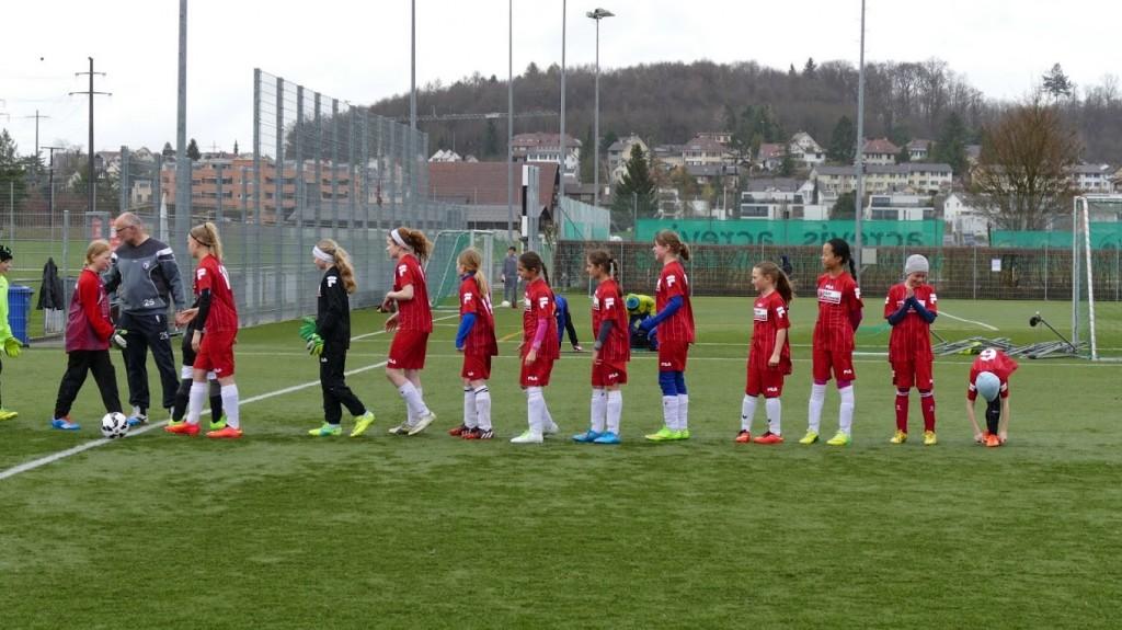 FC Wiesendangen - FC Wallisellen, Juniorinnen D