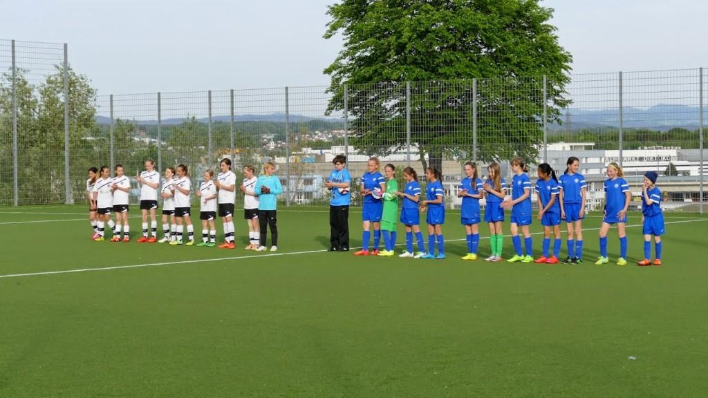 FC Wallisellen - FC Niederweningen, Juniorinnen D