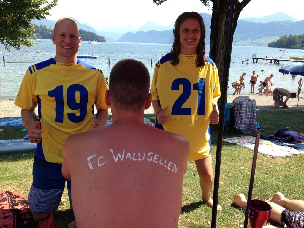 Sandro Weiss, Vierwaldstättersee, Gründungsjahr FC Wallisellen