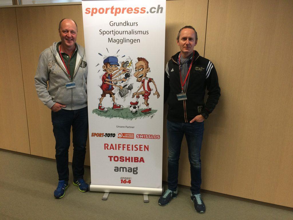 Absolventen Grundkurs Sportjournalismus